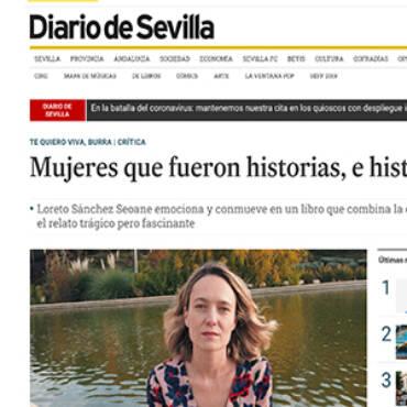Diario de Sevilla – Loreto Sánchez
