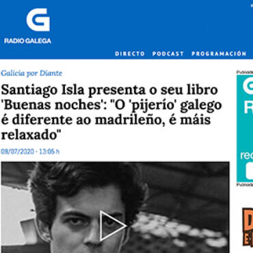 Radio Galega – Santiago Isla