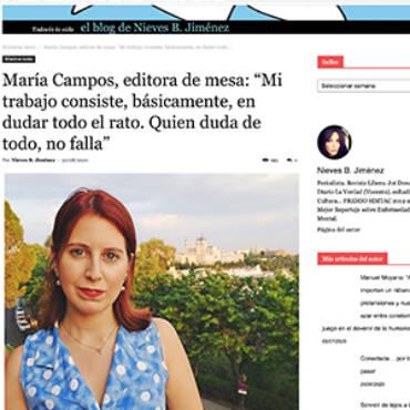 Fronterad – María Campos