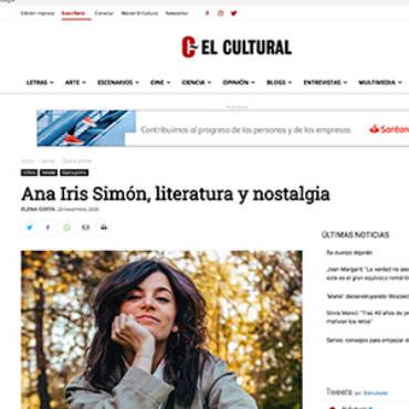 El Cultural – Ana Iris Simón