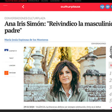 Culturplaza – Ana Iris Simón