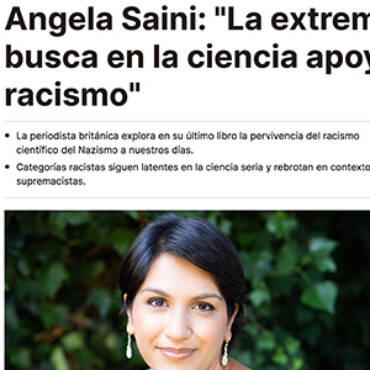 El periódico – Ángela Saini