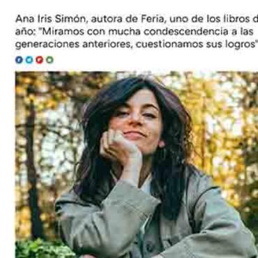 Trendencias – Ana Iris Simón